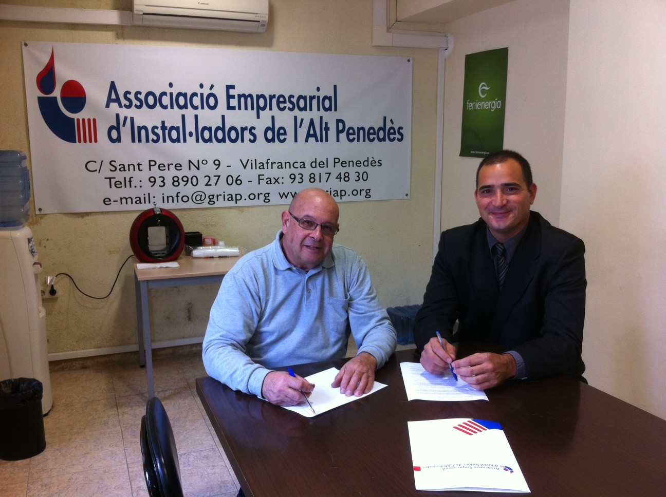 "Nou Col·laborador al Gremi ""Grupo Nova Energia"""